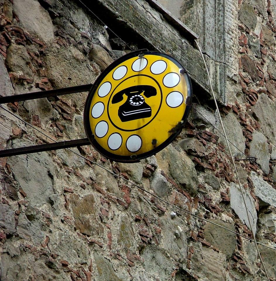 Señal de teléfono en Sicilia